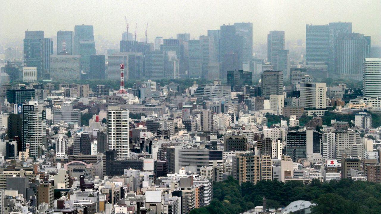 Vue de la ville de Tokyo au Japon. [Kimimasa Mayama - EPA/Keystone]