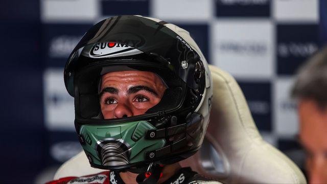 Romano Fenati va passer des circuits à la quincaillerie. [Gigi Soldano - AFP]