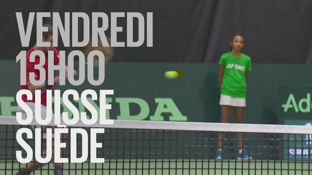 Bande-annonce: Tennis Coupe Davis Suisse - Suède du 14.09.2018 [RTS]