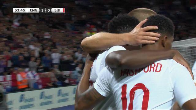 Angleterre - Suisse (1-0): le but du match [RTS]