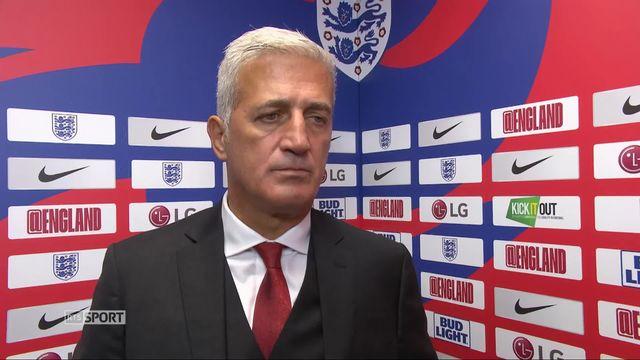 Angleterre - Suisse (1-0): Petkovic s'exprime à propos de la défaite [RTS]