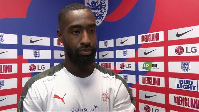 Angleterre - Suisse (1-0): Djourou au micro de RTSsport après le match [RTS]