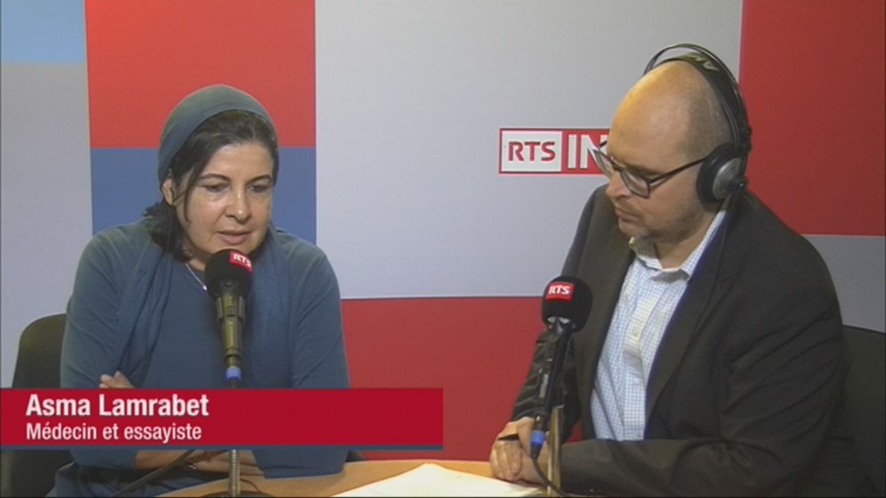 L'invitée de Romain Clivaz (vidéo) - Asma Lamrabet, médecin et essayiste marocaine [RTS]