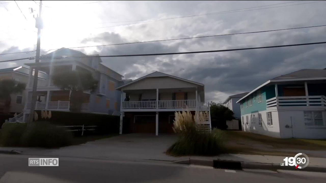 La Côte Est des Etats-Unis se prépare à l'impact de l'ouragan Florence. Des milliers de personnes ont été évacuées. [RTS]