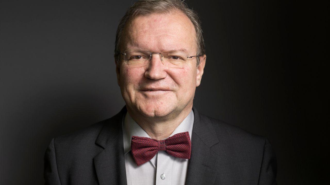 Claude Longchamp, directeur de l'institut GFS.Bern. [Gaëtan Bally - Keystone]