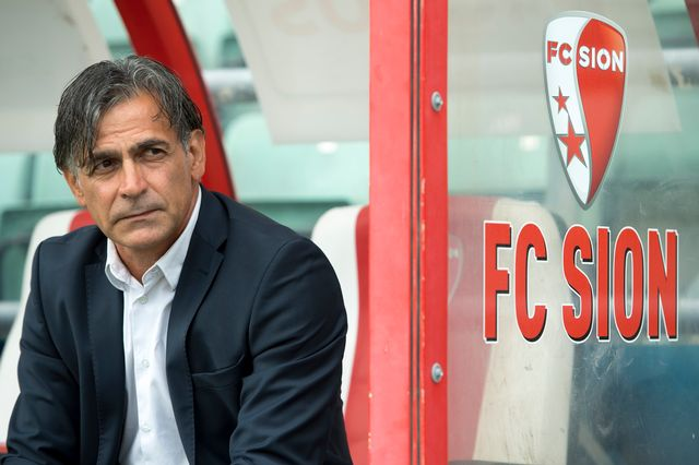 Maurizio Jacobacci ne dirigera pas le match à la Pontaise, selon Rhône FM. [Laurent Gillieron - Keystone]