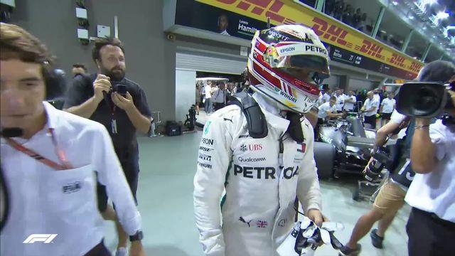 Essais qualificatifs: Lewis Hamilton (GBR) partira en pôle [RTS]