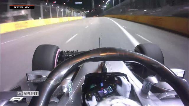 Formule 1, GP de Singapour, essais qualificatifs: Lewis Hamilton en pole position [RTS]