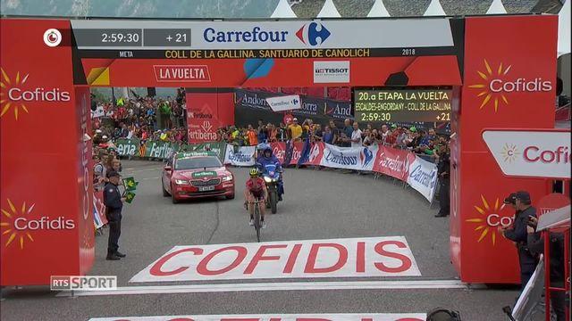 Cyclisme, Tour d'Espagne: le point [RTS]