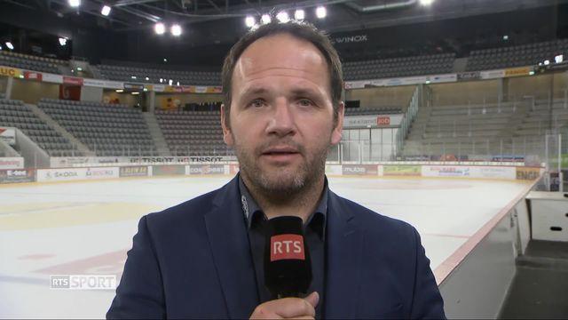 Hockey sur Glace: duplex avec Martin Steinegger, directeur sportif du HC Bienne [RTS]