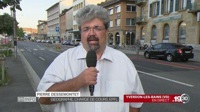 Pierre Dessemontet, géographe et chargé de cours à l'EPFL. [RTS]