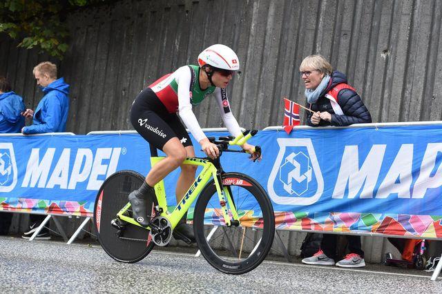 Championnats du monde Contre-la-montre par équipe dames [MARIT HOMMEDAL NORWAY OUT - Keystone]