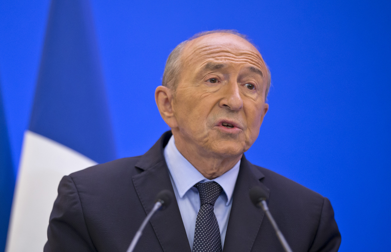 Gérard Collomb, le 6 septembre 2018 à Paris.