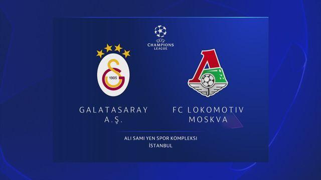 Ligue des champions, 1ère journée : Galasataray - Lok.Moscou (3-0) [RTS]