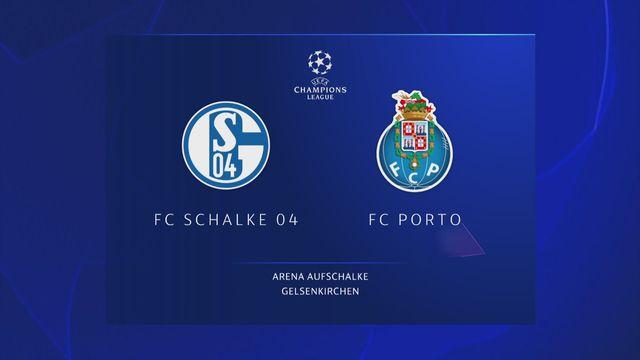 Ligue des champions, 1ère journée : Schalke 04 - Porto (1-1) [RTS]