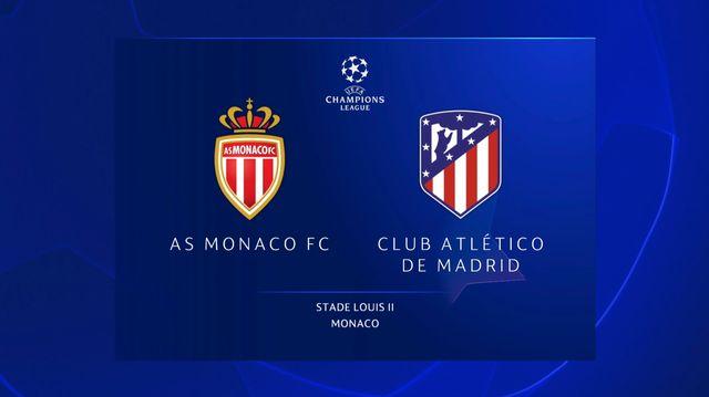 Ligue des champions, 1ère journée: Monaco - Atletico Madrid (1-2)