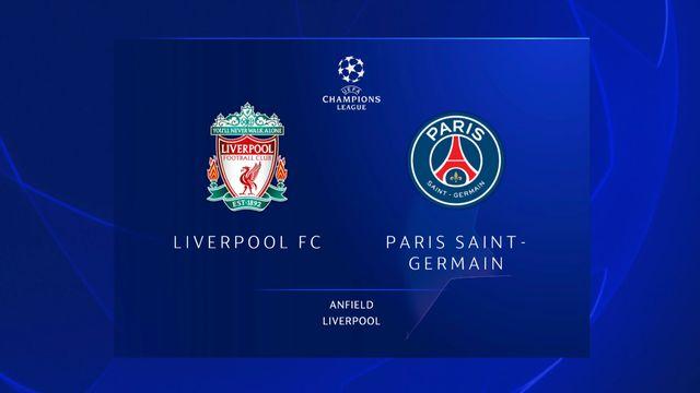 Ligue des champions, 1ère journée: Liverpool - Paris SG (3-2)