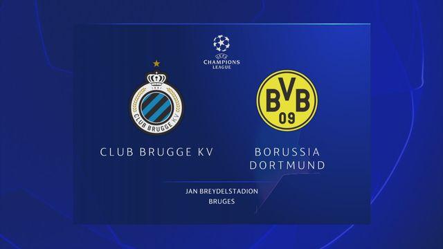 Ligue des champions, 1ère journée : Bruges - B.Dortmund (0-1) [RTS]