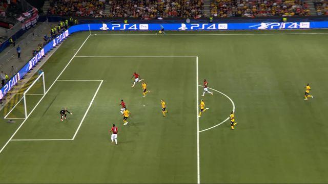 oung Boys – Manchester United (0-3): 66e, aidé par Camara, Martial inscrit le 3e but mancunien [RTS]