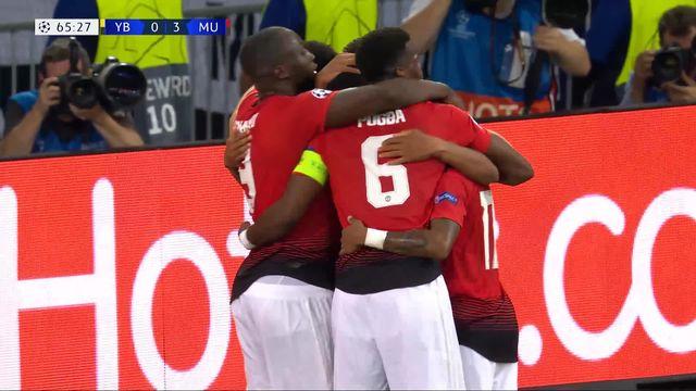 1ère journée: Young Boys – Manchester United (0-3): tous les buts du match [RTS]