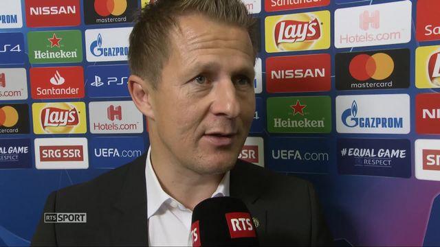 Young Boys – Manchester United (0-3): Christoph Spycher au micro de RTSsport [RTS]