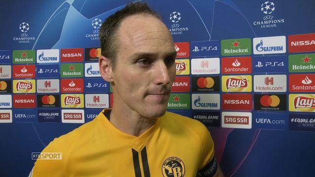 Young Boys – Manchester United (0-3): la réaction de Steve Von Bergen après la rencontre [RTS]