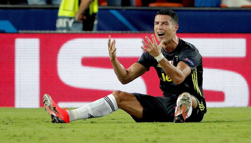 Ronaldo a vu rouge face à Valence