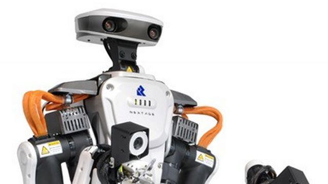 Mon collègue est un robot. [Rollomatic SA]
