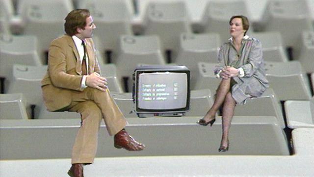 Télescope enquête sur les ordinateurs, 1984. [RTS]