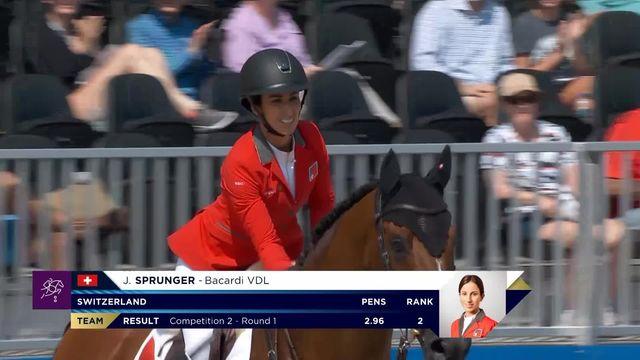 Janika Sprunger prend la 6e place provisoire après deux journée [RTS]