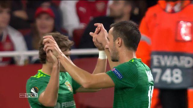 Arsenal - FC Vorskla Poltava (4-2): le résumé du match [RTS]
