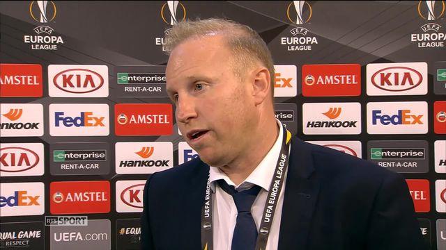 AEK Larnaca - FC Zurich (0-1): Ludovic Magnin à l'interview [RTS]