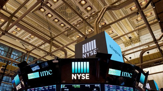 La Bourse de New York, en janvier dernier. [Mark Lennihan - AP Photo]