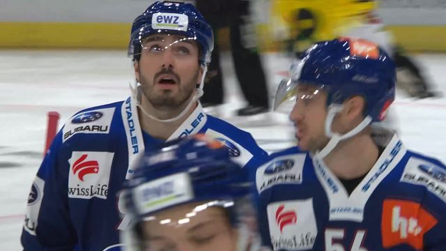 Hockey, National league: Zurich - Berne (1-2) [RTS]