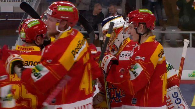 Hockey, National league: Bienne - Genève (3-0) [RTS]