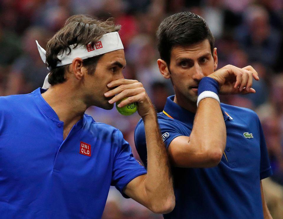 Federer et Djokovic n'ont pas pu offrir un 4e point à l'Europe. [Jim Young - Keystone]