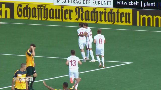 Football, Challenge League: Schaffhouse - Servette (1-1) [RTS]
