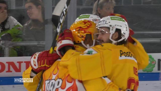 Hockey, National League: Lausanne - Bienne (1-4) [RTS]