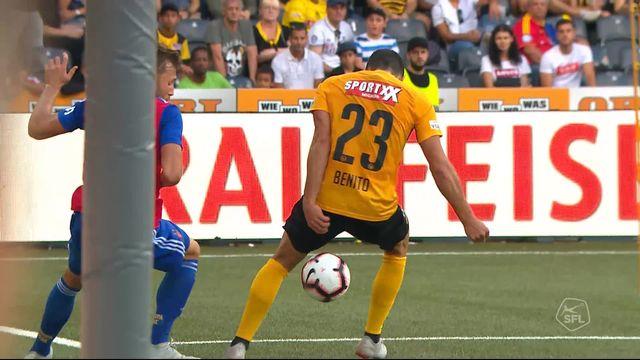 7e journée, YB - Bâle 5-1: 75e Van Wolfswinkel sauve l'honneur pour le FC Bâle [RTS]