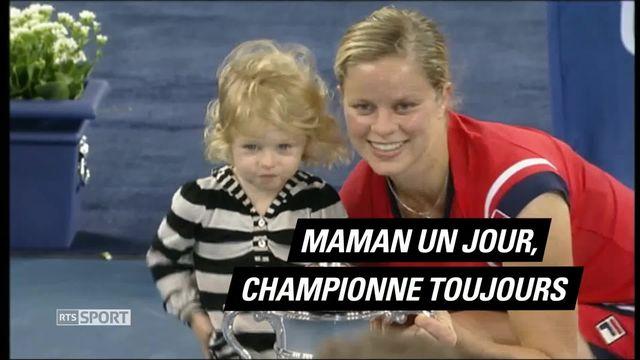 Le Mag: Maman un jour, championne toujours [RTS]