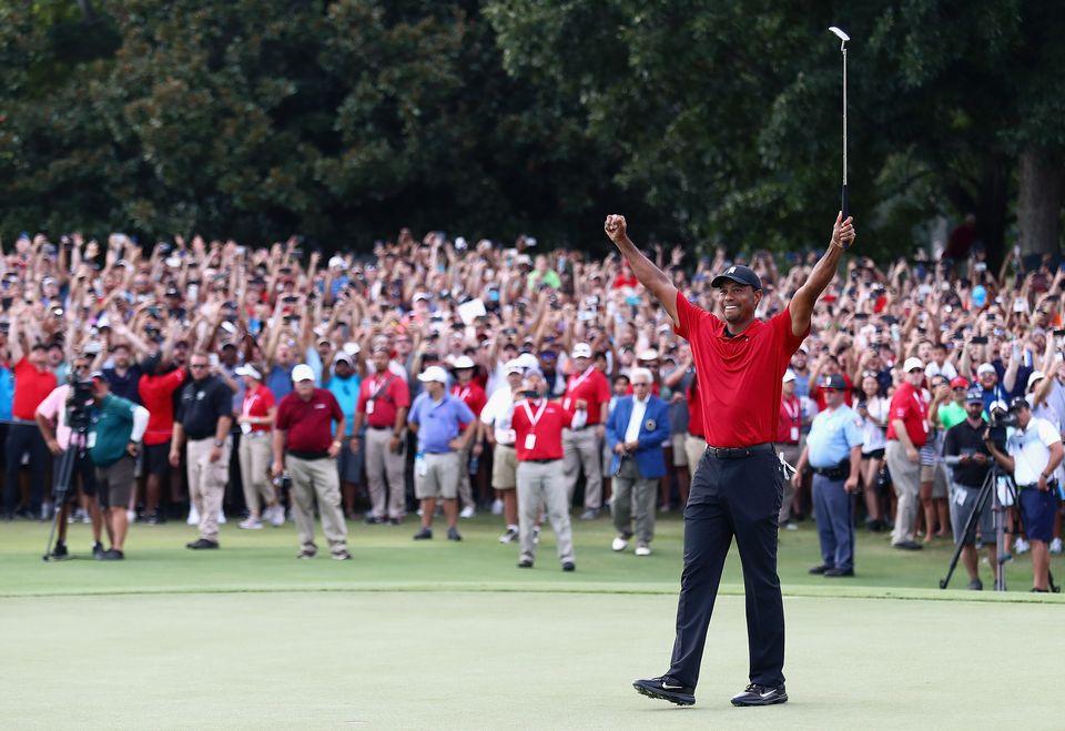 Quel incroyable come-back du golfeur américain. [Tim Bradbury  - AFP]