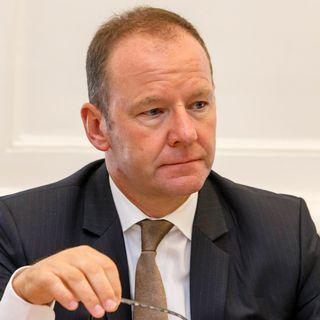 Le conseiller d'Etat genevois Serge Dal Busco. [Salvatore Di Nolfi - Keystone]