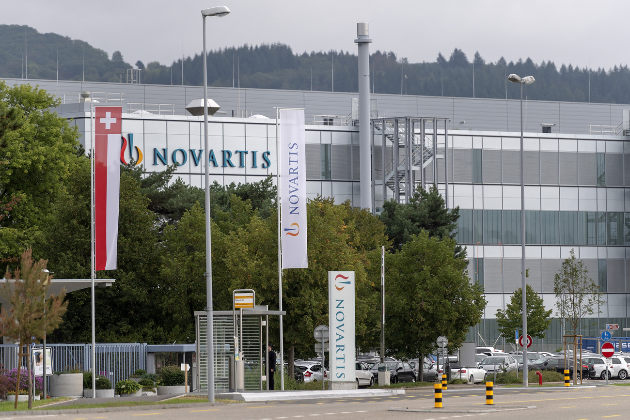 Le site de production de Novartis à Stein, le 3 septembre 2018.