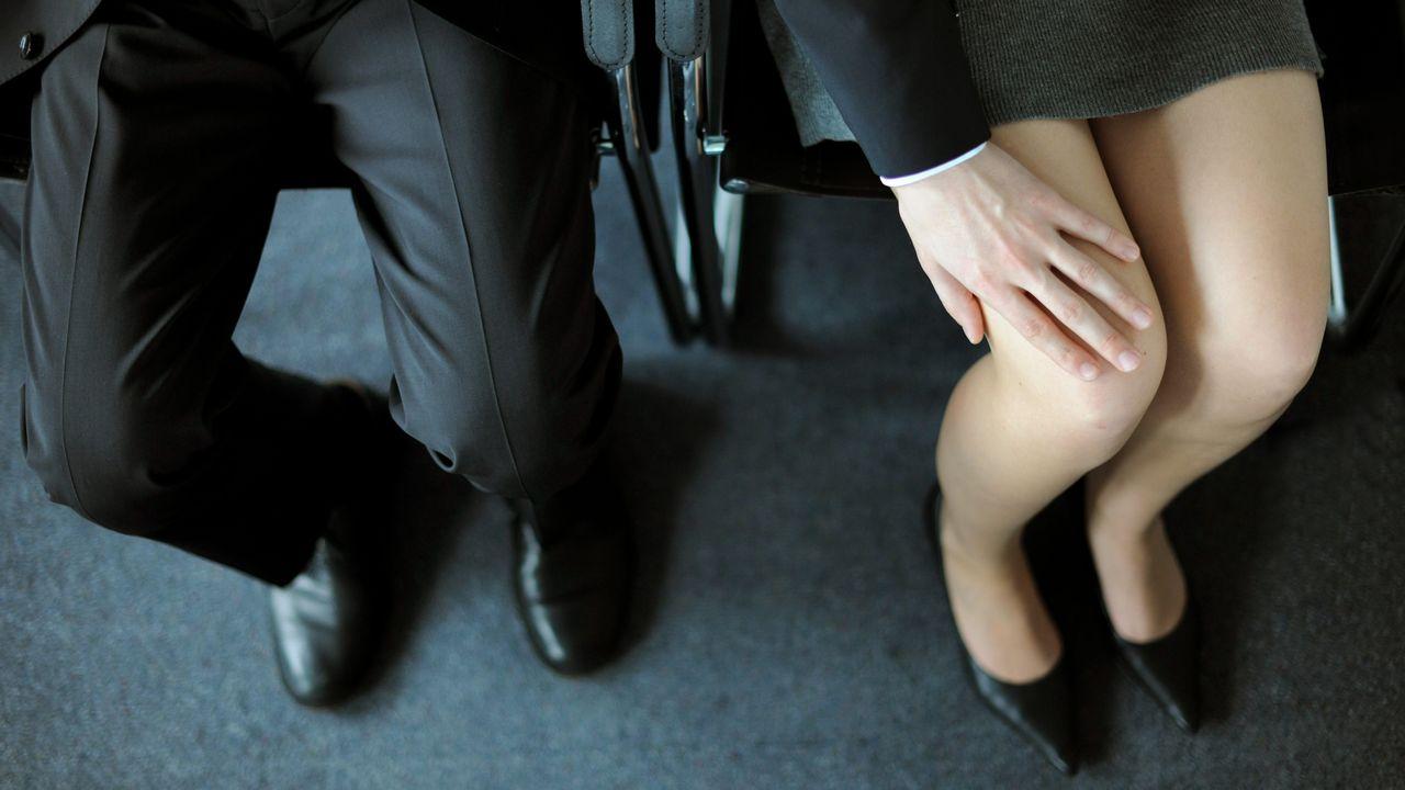 Le harcèlement sexuel dans le milieu du travail. [Picture Alliance / DPA - Frank May]