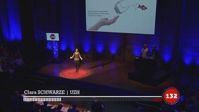 Ma thèse en 180 secondes : Clara Schwarze [RTS]