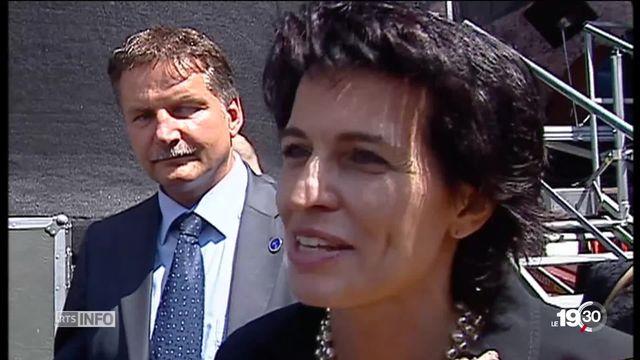 Doris Leuthard, femme d'envergure, grande dame de la politique suisse. Sa voix comptait, départageait aussi. Portrait. [RTS]