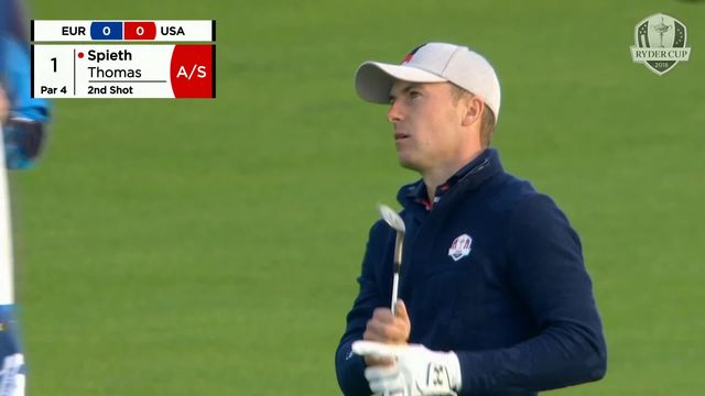 Golf, Ryder Cup: Les USA dominent le 4 balles [RTS]