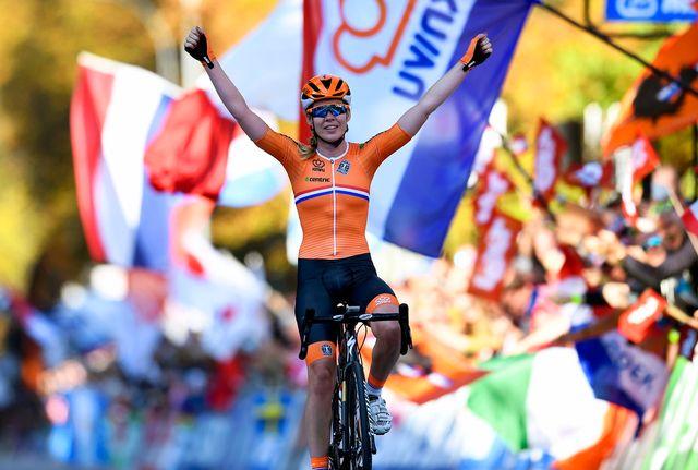 Anna van der Breggen a assommé la concurrence à Innsbruck. [Daniel Kopatsch - Keystone]