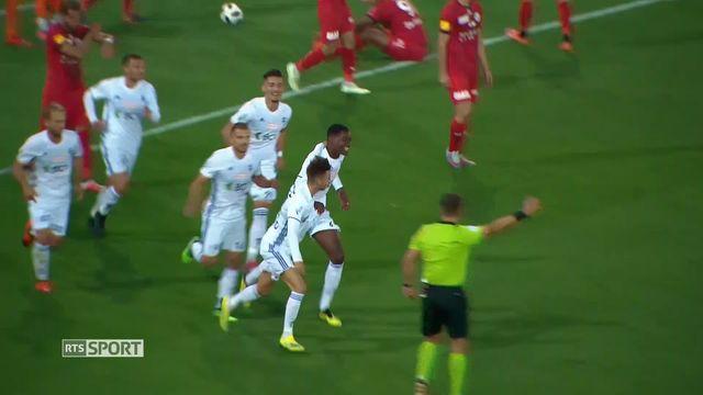 Football, Challenge League, 9e journée: Lausanne - Wil (2-2) [RTS]