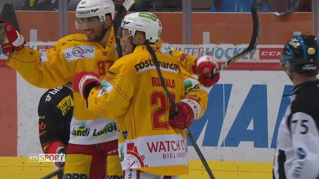 Hockey, National League: Berne - Bienne (2-5) [RTS]